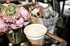 ALT (A Little Taste) A perfect spot for a cup of joe in the Chelsea flower district. #goopnyfw #nyfw