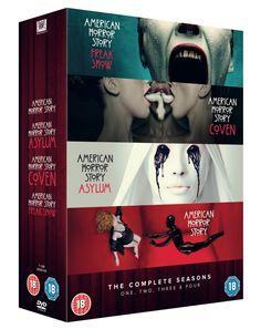 American Horror Story: Seasons 1-4 [DVD] [2015]