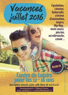 Adara organise un centre de loisirs pour 12-16 ans cet été.