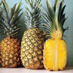 The BasicsDon't be deterred by this fruit's prickly exterior; fresh pineapple is the perfect sweet, sunny fruit to enjoy at the end of a long winter. Once rare in the United States, pineapple was served only on special occasions, so it became a symbol of hospitality.To BuyBecause pineapple doesn't ripen further after being picked, select a ready-to-eat one. Look for fruit that's heavy for its size, with a rich, sweet fragrance. The leaves should be green and fresh-looking. If you can pull…