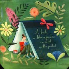 """""""Un libro es como un jardín de bolsillo..."""""""
