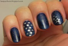 Lacquer Buzz: Starry night
