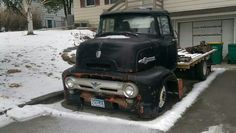 1956 ford f100 coe flatbed