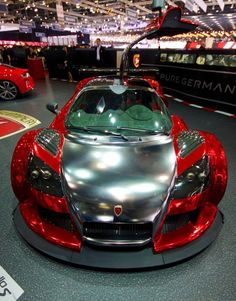 roxtunecars:  Gumpert Apollo top gear hot cars