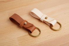 Handmade Leather Key Fob Keyring Key Chain, Bautiful Hand Made Quality
