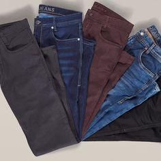 So bequem wie eine Jogginghose, so belastbar wie eine Jeans: Die innovativen MAC Jog'n Jeans für Herren überzeugen durch Komfort wie Optik und sind eine Klasse für sich. Die Herrenjeans werden mit hochwertigen Pigmenten gefärbt und sind neben dem klassischen Denim-Blau auch in zahlreichen modischen Waschungen erhältlich.