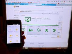 Notebook und Smartphone mit Norton Security Premium geschützt. - Testerin Daniela