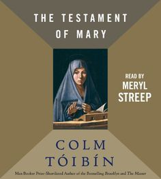 The Testament of Mary by Colm Toibin,http://www.amazon.com/dp/1442363479/ref=cm_sw_r_pi_dp_q15lsb09PM07TAZJ