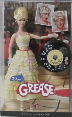Barbie Pink Label Collection Grease Baribie Doll - French...