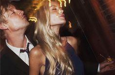 So verliebt zeigen sich Samu Haber und Freundin Vivianne sonst nur selten in der Öffentlichkeit.
