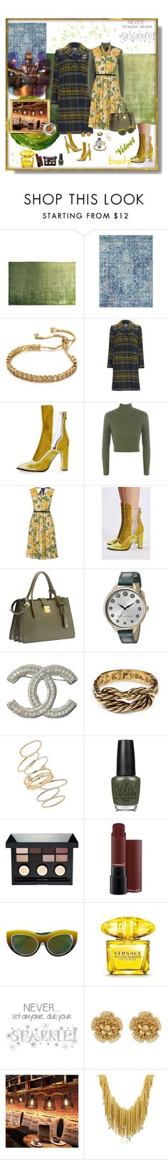 """""""Meeting friends for coffee...pattern mixing and velvet boots"""" by deborah-518 ❤ liked on Polyvore featuring Designers Guild, Great Plains, Topshop, WearAll, Marc Jacobs, Miu Miu, Chanel, BP., OPI and Bobbi Brown Cosmetics"""
