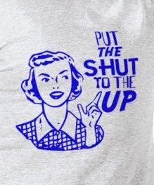 """acceptable way to say """"shut up""""! @karlee Bishop and @Kalli Schroeder"""