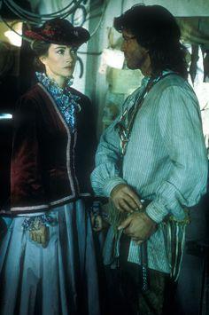 Dr. Quinn Medicine Woman Pilot. Joe Lando and Jane Seymour as: Byron Sully and Dr. Michaela Quinn