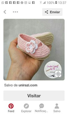 Zapatos tejidos bebe Crochet Baby Booties, Crochet Accessories, Crochet Projects, Crocheting, Baby Shower, Booty, Anime, Diy, Shoes