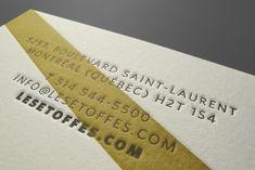 LES ETOFFES – Feed Business Card Logo, Letterpress, Book Design, Saint Laurent, Creative Studio, Letterpress Printing, Letterpresses, Yves Saint Laurent