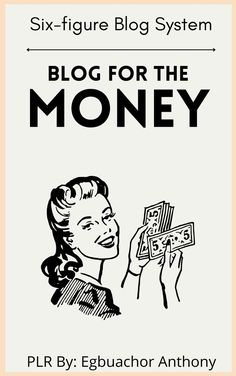 Do you want to make money in the world of profitable blogging? Are you itching to become one of those 6-figure bloggers that you've heard so much about? If so, you'll want to read every single word in this special report because I'm going to show you exactly how you can join the ranks of those who have cultivated a following of regular buyers through a network of highly-targeted blogs. I've eliminated the clutter and time-consuming work-around so that I can take you dee
