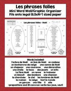 FRENCH CHRISTMAS SPEAKING AND WRITING ACTIVITIES - TeachersPayTeachers.com
