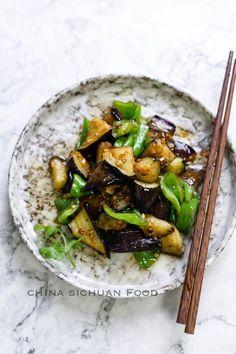 Eggplant with garlic sauce| chinasichuanfood.com