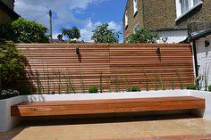 hardwood-screen-trellis-raised-beds-and-floating-bench-london.jpg 1,024×683 pixels