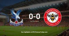 Premier League Fixtures, Brentford, Crystal Palace, Brentford F.c.