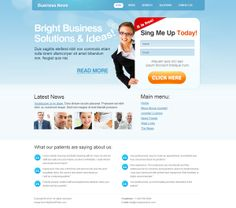 Business News Joomla Template 300111123 by Dynamic Template