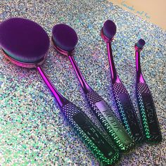 Royal and Langnickel Moda Prismatic Pro Makeup Brushes | POPSUGAR Beauty