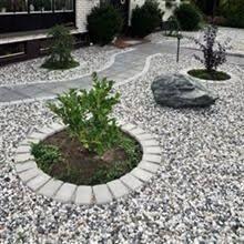 Bildresultat för stenrabatt entre inspo Pool Shade, Small Yard Landscaping, Front Yard Design, Gravel Garden, Easy Garden, Outdoor Projects, Backyard Patio, Garden Inspiration, Outdoor Gardens