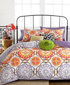 Marigold 3 Piece Comforter and Duvet Cover Sets - Macys.com - King $119.99
