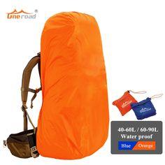 40L de 90L mochila bolso de hombros de la cubierta de protección a prueba de polvo cubierta de la lluvia para acampar al aire libre senderismo Escalada ciclismo