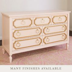 another idea to transform our old dresser with paint and maybe overlays