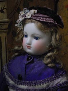 ~~~ Elegant French Bisque Poupee in Original Condition ~~~ from whendreamscometrue on Ruby Lane