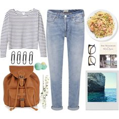 Sea walk by wolfskiv on Polyvore. outfit, summer, set, style