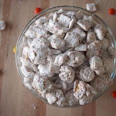 Triple Peanut Butter Puppy Chow