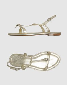 A gorgeous metallic sandal from the Donna Karan Collection for the hottest of summer days!  #amyesperstyling
