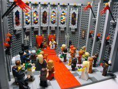 lego throne room - Google Search
