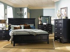 find this pin and more on klaussner bedroom furniture by klaussner - Antique Black Bedroom Furniture