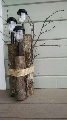 Garden Yard Ideas, Garden Crafts, Garden Projects, Garden Art, Diy Projects, Outdoor Projects, Mailbox Garden, Twig Crafts, Clay Pot Projects