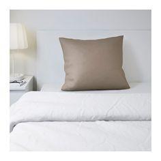 GÄSPA Pillowcase, brown brown 26x26