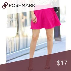 Jessica Simpson Pink Skirt Super adorable, fun, and flirty JS mini skirt! Elastic waist. Could fit sizes 0-4. Condition: like new! Worn once. Jessica Simpson Skirts Mini