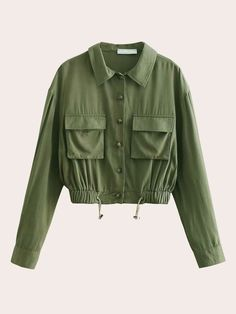Casual Outfits, Cute Outfits, Fall Shirts, Weekend Outfit, Green Fashion, Size Clothing, Ideias Fashion, Fashion Dresses, Clothes For Women