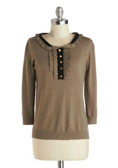 Miss Genealogy Sweater, #ModCloth
