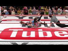 WWE 2K16: Mickie James vs. Samantha (Youtube Showdown 8/26/16)