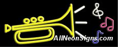 """Music logo Neon Sign-10583-5838  13"""" Wide x 32"""" Tall x 3"""" Deep  110 volt U.L. 2161 transformers  Cool, Quiet, Energy Efficient  Hardware & chain are included  6' Power cord  For indoor use only  1 Year Warranty/electrical components  1 Year Warranty/standard transformers."""