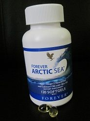 New and improved Forever Artic sea with calamari oil, Omega-3 and Olive Oil