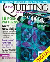 McCall's Quilting March/April 2011 Digital Issue from QuiltandSewShop.com