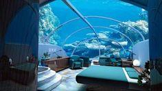 Onderwater hotel