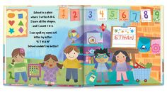 New! The Very Important Preschooler (V.I.P.) Virtual Tour  #iseemebooks  #BackToSchool