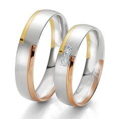 Anillos de boda de oro blanco ¡15 diseños de moda! - Somos Novias