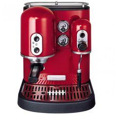 macchina per caff espresso artisan rosso