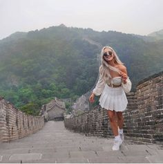 Great Wall of China, Beijing Great Wall Of China, Beijing, Dresses With Sleeves, Long Sleeve, Travel, Fashion, Great Wall China, Moda, Viajes